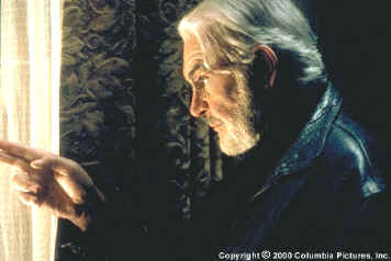 movie review finding forrester First the good news ''finding forrester,'' the latest in a rising tide of shameless male weepies, does not star that leaky human bucket of crocodile tears.