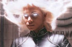 X-Men. Live action cartoon drawn with invisible ink